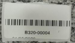 Etiqueta CB - impresa